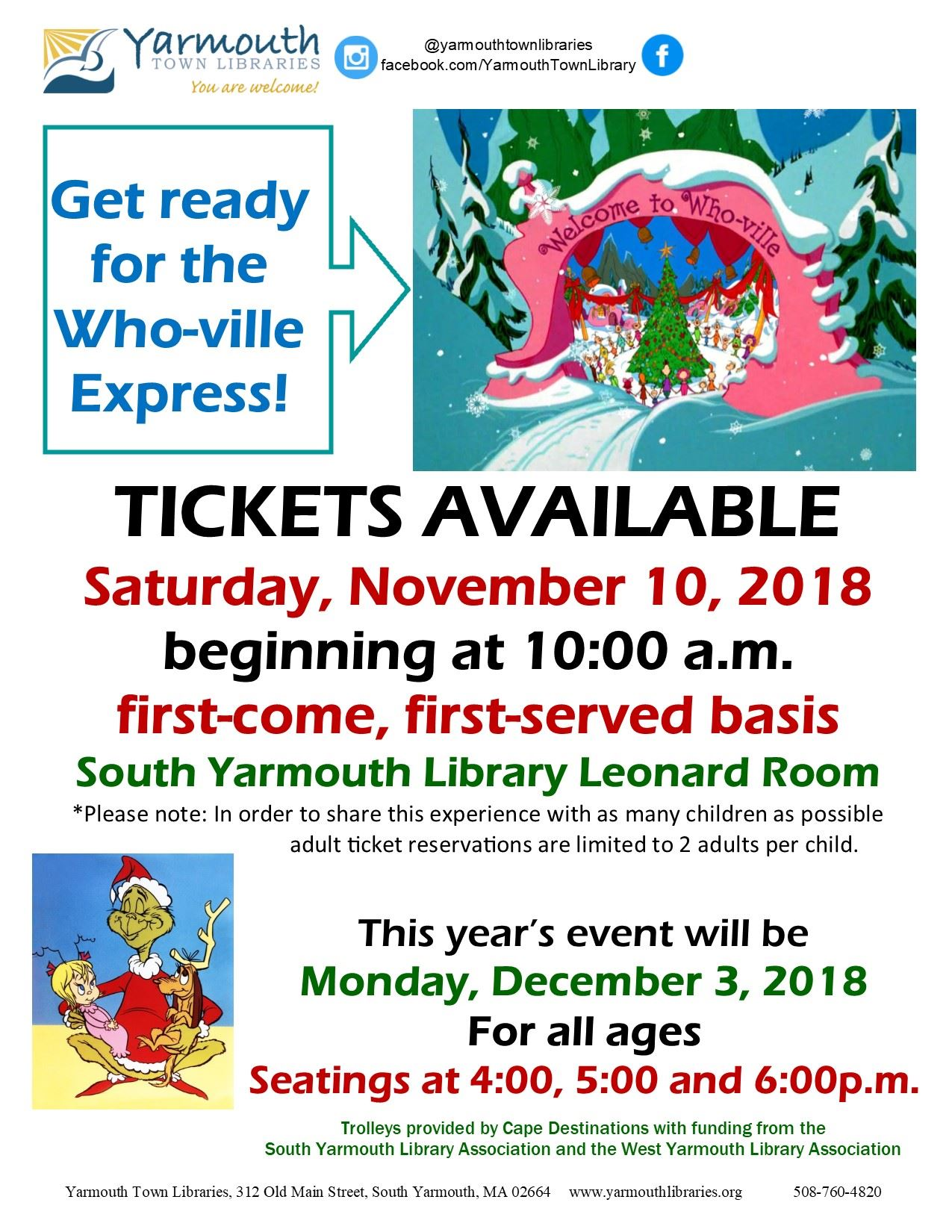 WHOVILLE single flyer 2018