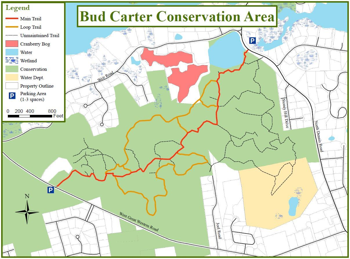 Bud Carter Map