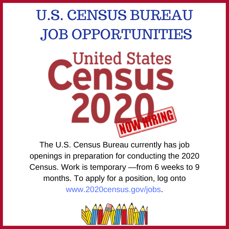 Apply for a job with the 2020 census