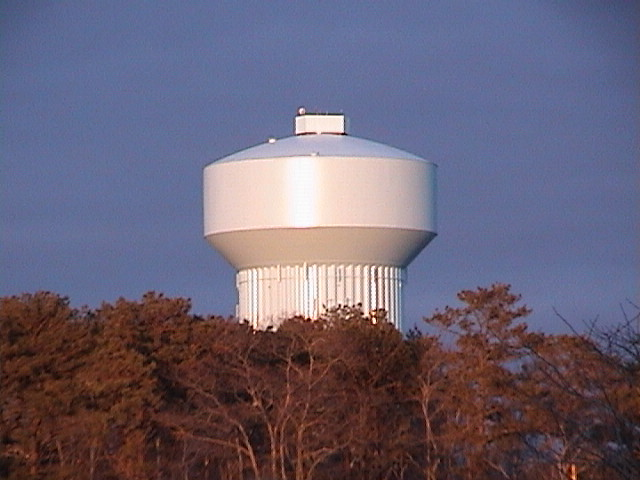 Sandy Pond Water Tank