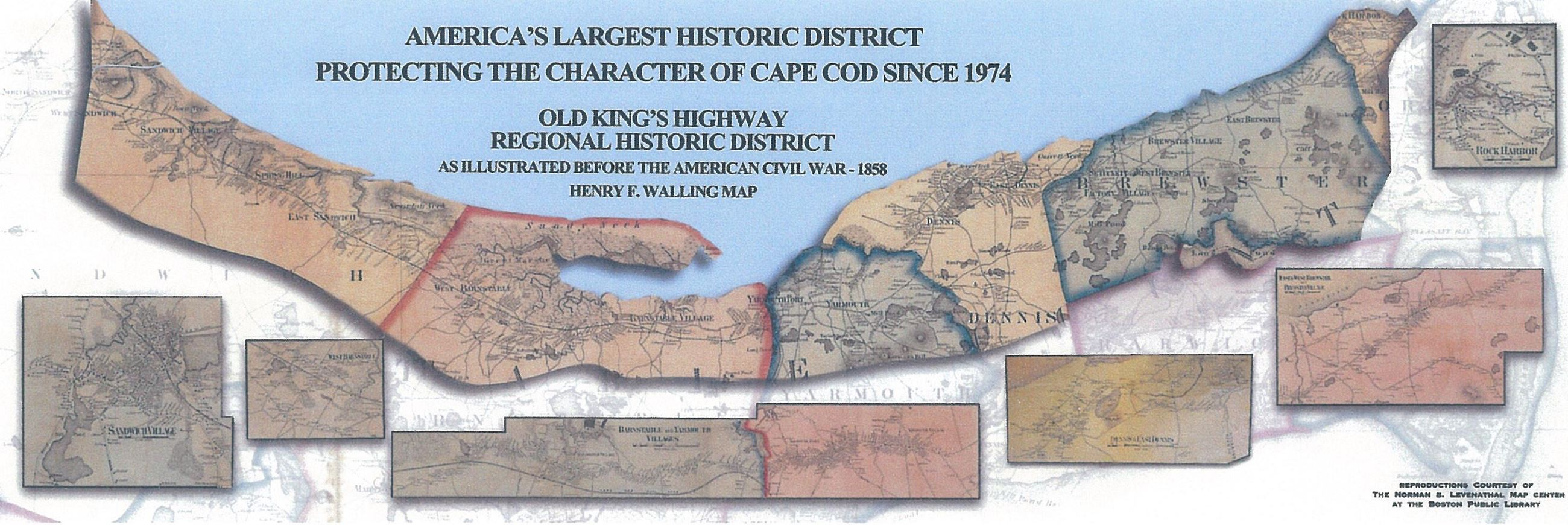 Old Kings Highway Regional Historic District  Town of Yarmouth