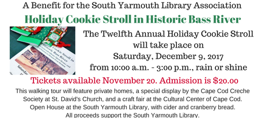 The Twelfth Annual Holiday Cookie Stroll