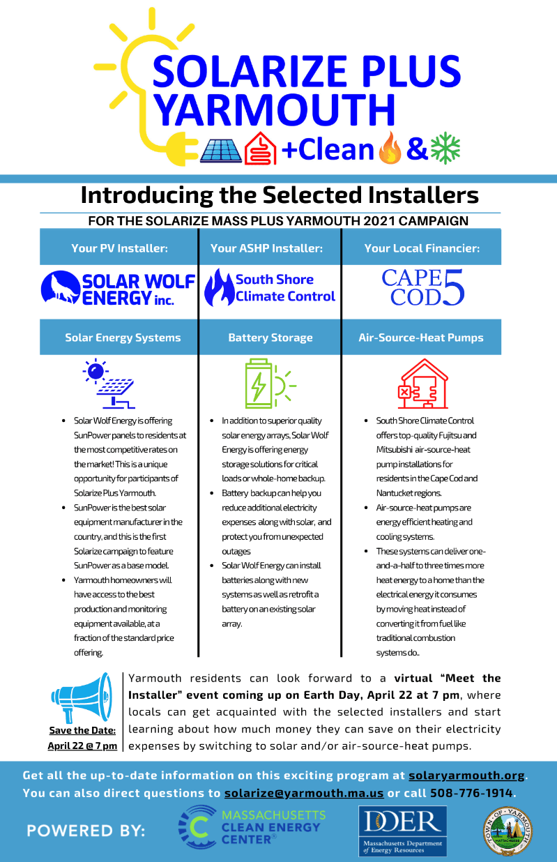Meet the Solarize installers poster