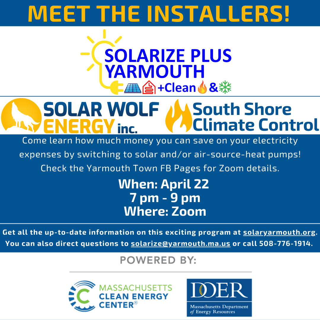 Meet the Installers for Solarize Plus Yarmouth